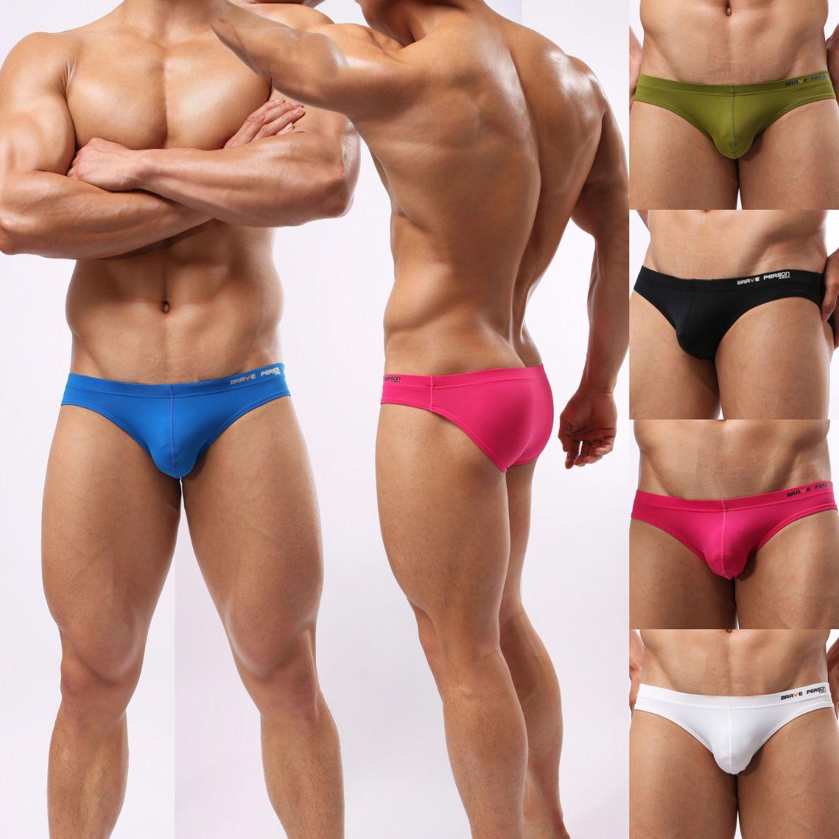 sexy menu0027s soft briefs underwear brand comfortable bikini underpants size s m l