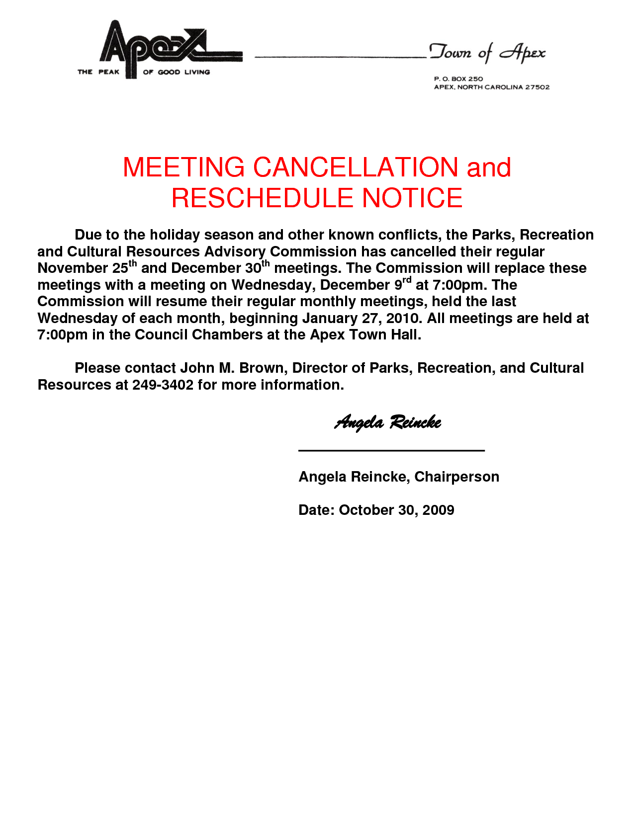 Cancellation Notice Template   Invitation Templates   Cancellation Notice  Form