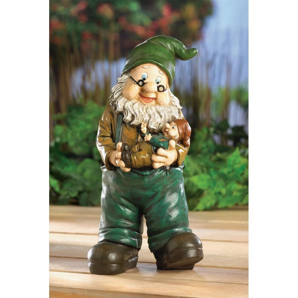 Gnome-Grandpa with Grandson | Gnomes and Products