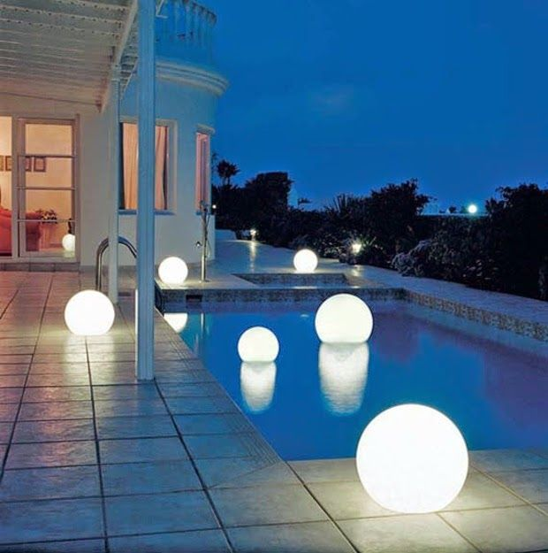 Exterior led lights terrace and pool with luminous spheres cheap sphere led buy quality light led directly from china light led light suppliers super waterproof rechargeable garden illuminating led sphere light aloadofball Choice Image