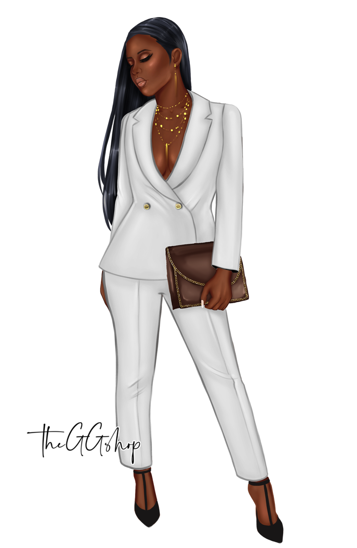 Afro American Girl Clipart Fashion Clipart Fashion Girl Clipart 100 Png Files Fashion Clipart Fashion Design Clothes Fashion Design Drawings