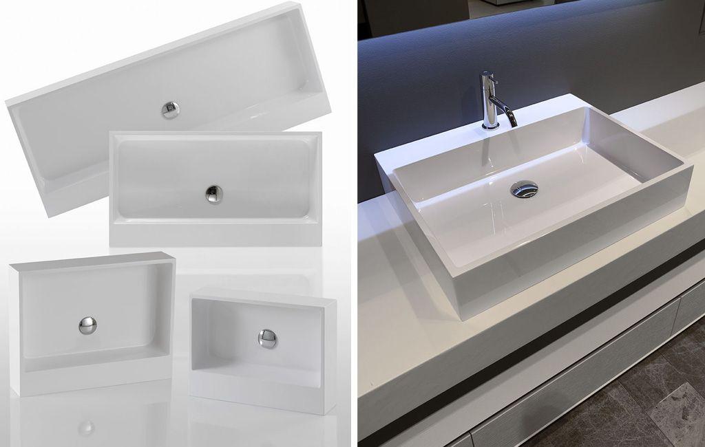 sinks: gesto antonio lupi - arredamento e accessori da bagno - wc ... - Arredo Bagno Corian
