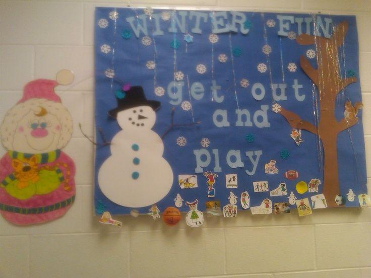 School Nurse Bulletin Board Ideas Winter Nursing Boards