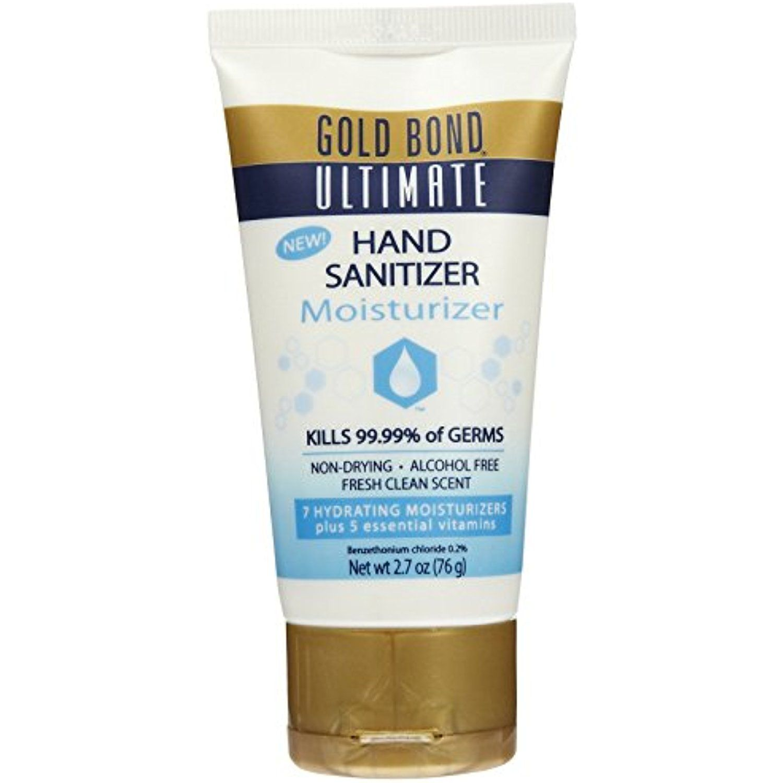 Gold Bond Ultimate Hand Sanitizer Moisturizer 12 Oz Pack Of 12