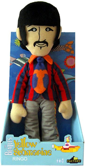 Lennon McCartney Starr Georg MUSICA Music Yellow Submarine FELPA THE BEATLES