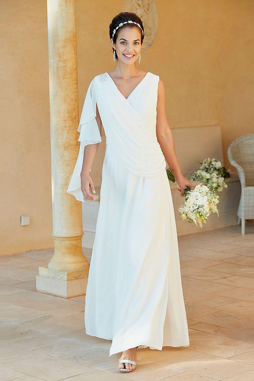 adding cap sleeves to a wedding dress