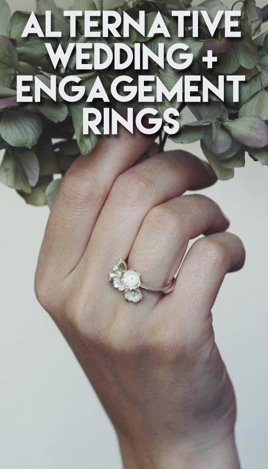 Gorgeous Alternatives To Traditional Wedding And Engagement Rings  #goldweddingrings #goldrings #rings #ringswomen
