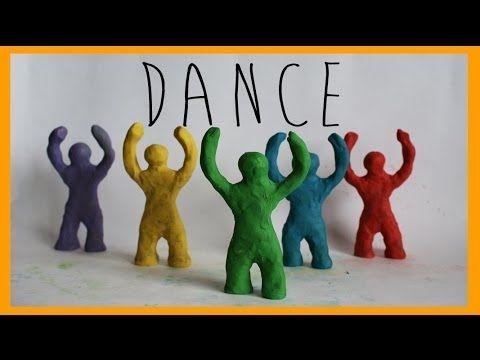 Stop motion Dance Animation - YouTube fijate si lo hacemos con una buena iluminación y usando otros muñecos! re va!!!!
