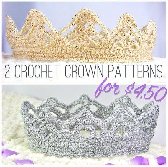 Crochet Crown Patterns Crown Crochet Pattern Crochet Tiara