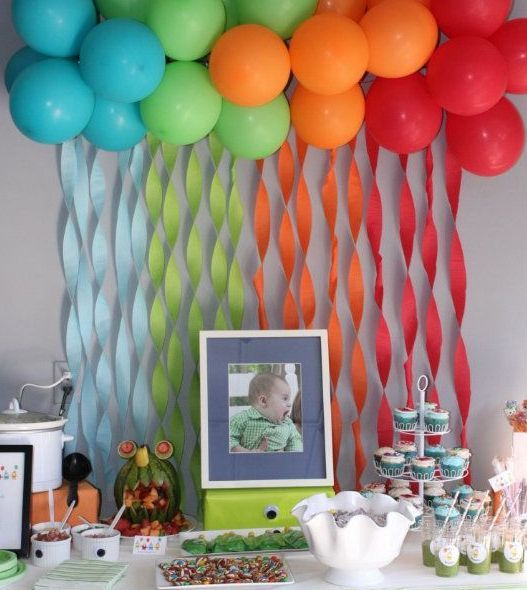 Decoracion de cumplea os party ideas pinterest - Decoracion para fiestas de cumpleanos adultos ...