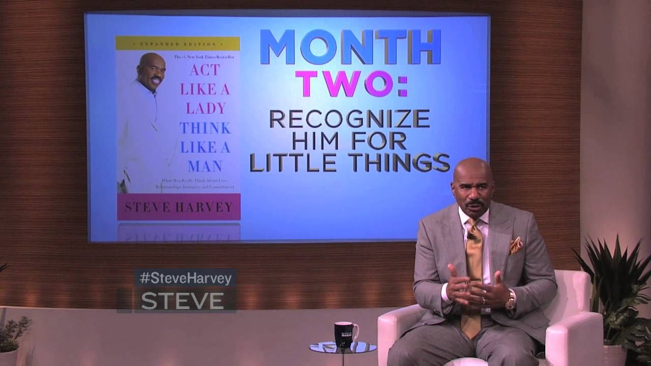 Steve Harvey S 3 Month Plan To Get A Man With Images Steve