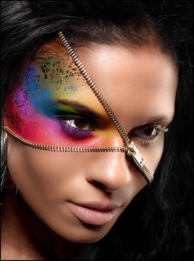 уборщик канализаций, фото креативного макияжа рисунком хотите