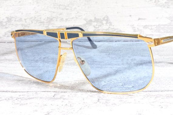 c66fac3acc Ultra rare Fred Ocean vintage sunglasses   gold by AudaxEyewear ...