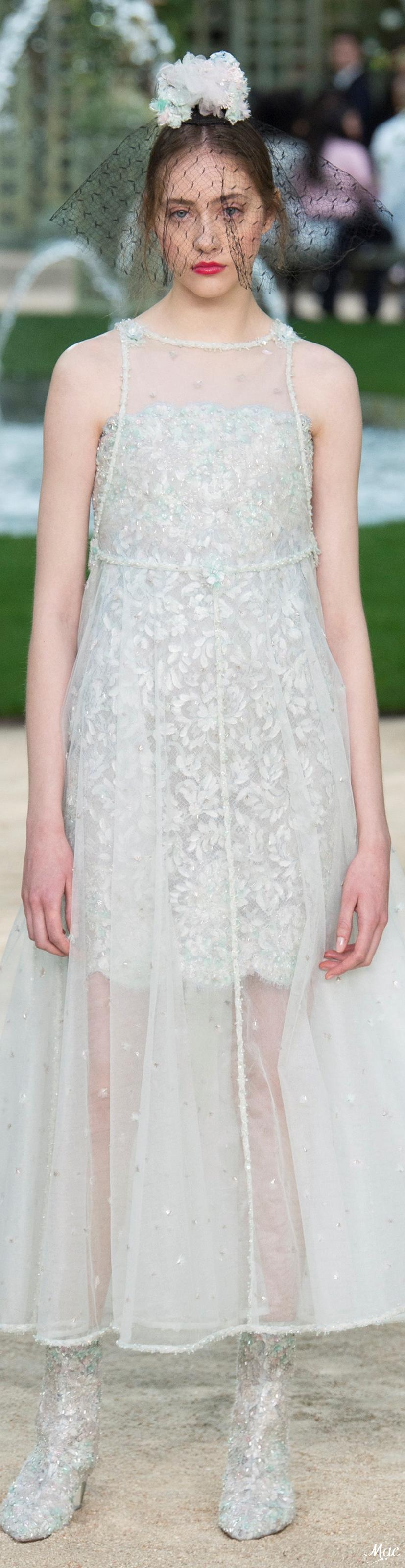Spring haute couture chanel chanel pinterest haute