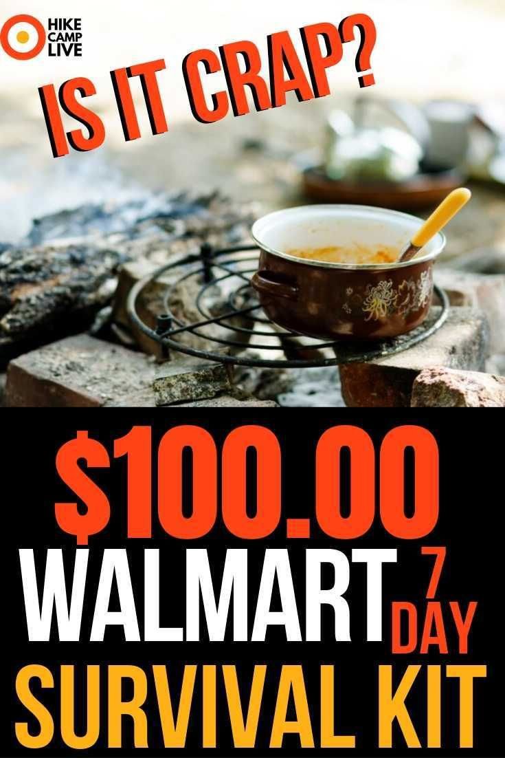 100 walmart survival kit is junk have you seen all the