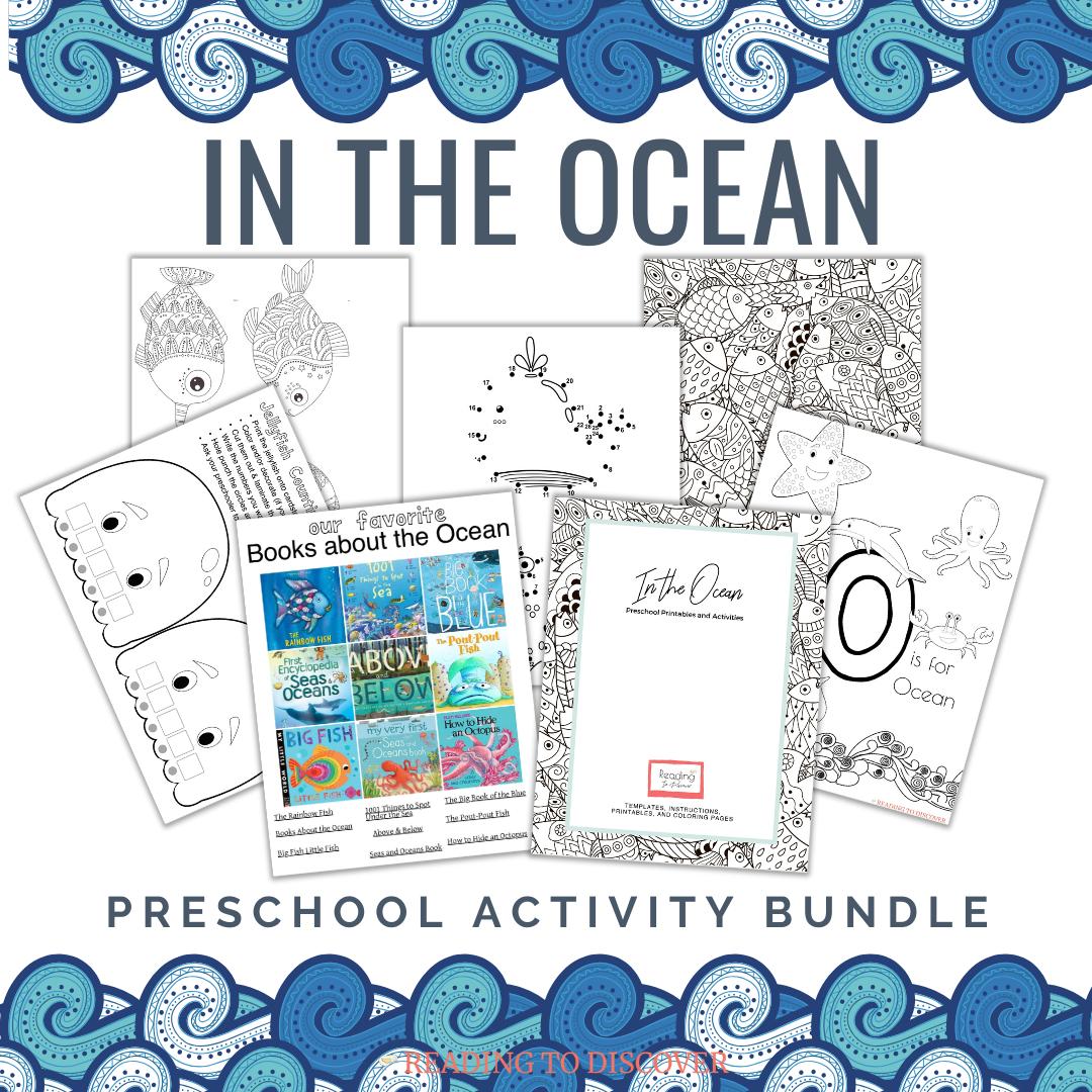 Ocean Activities For Preschoolers Free Printable Download