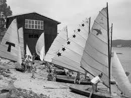 VJ's or Vaucluse Junior sailing dinghy