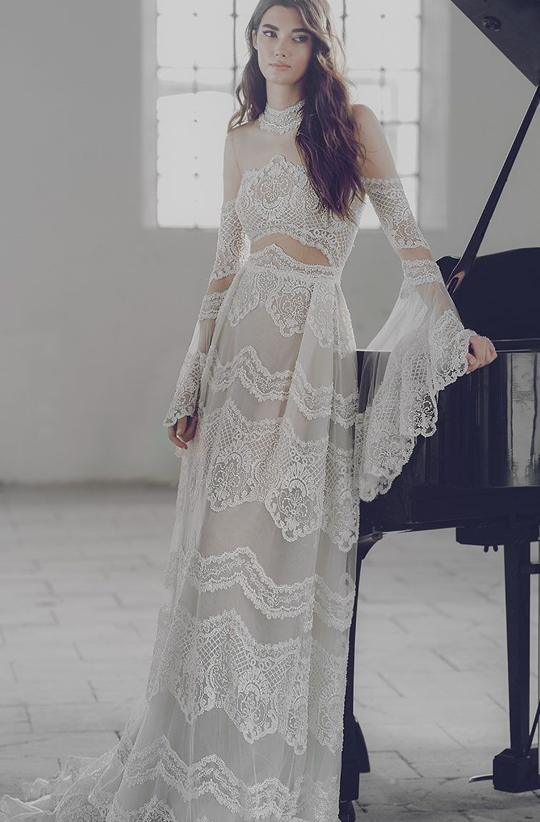 Lee petra grebenau wedding dresses u symphony in white in