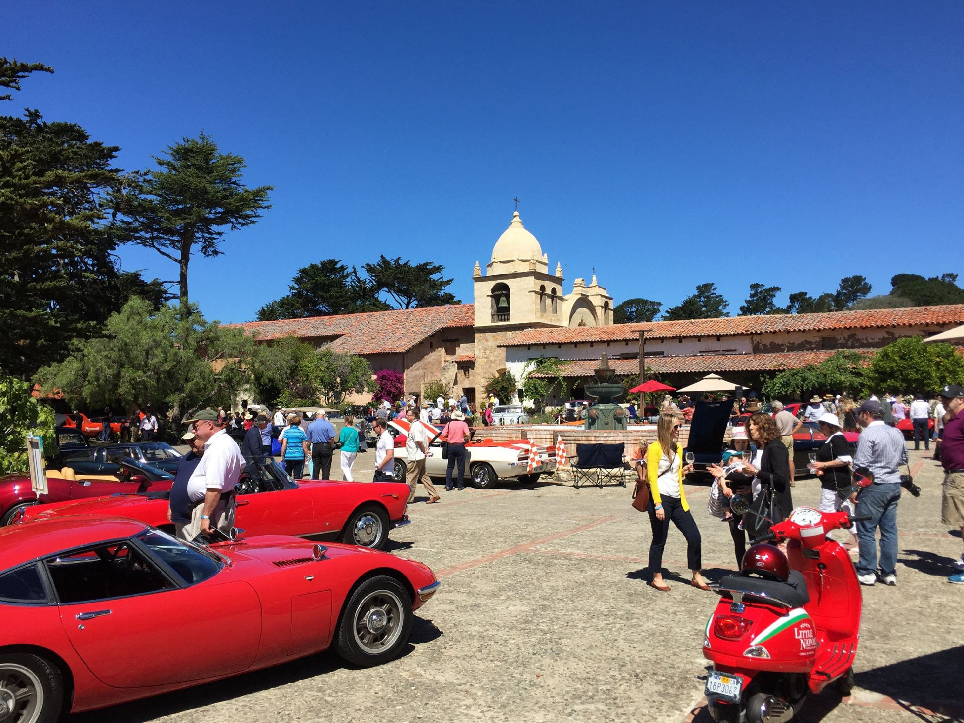 Annual Carmel Mission Classic Car Show And Blessing Of The Cars - Monterey car show
