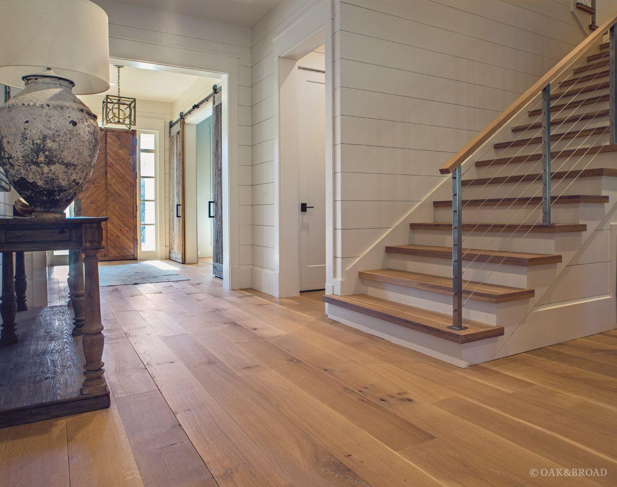Wide Plank White Oak Flooring in Nashville, TN Modern Farmhouse