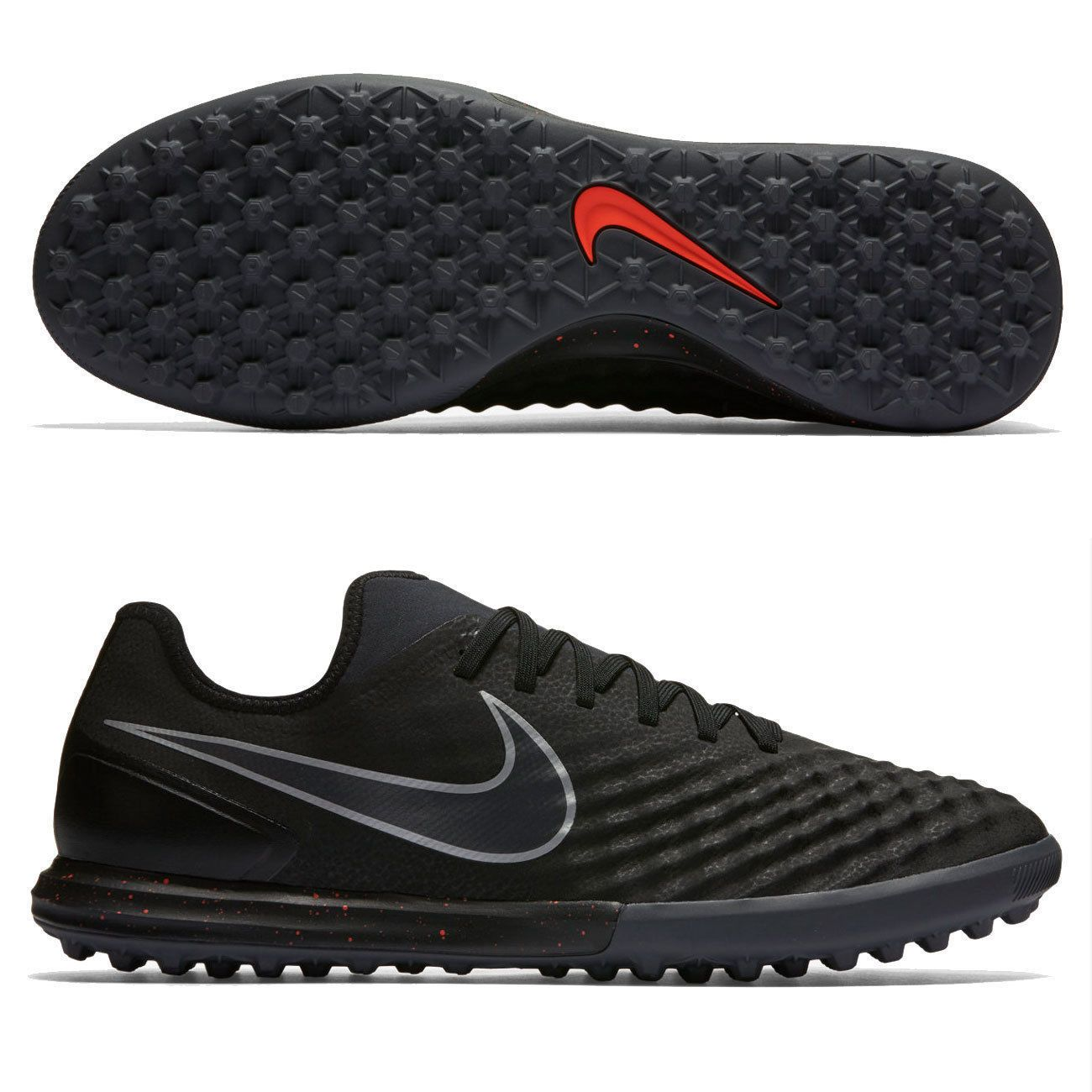 New Mens 2016 Nike MagistaX Finale II TF Turf Soccer Shoes 8.5 Black  844446-008