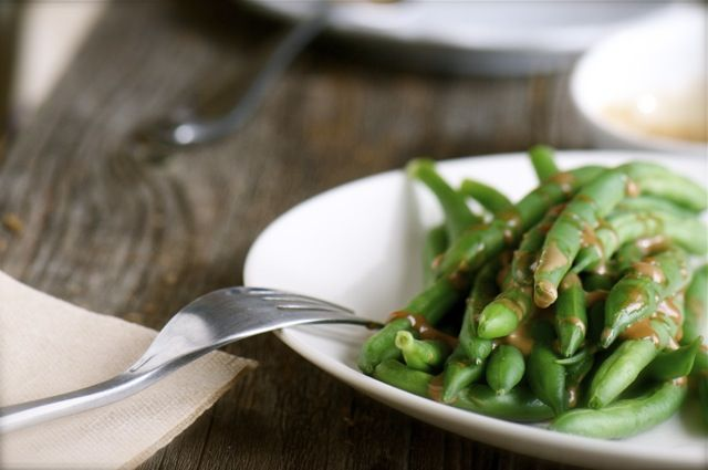 vegan green beans by @marly
