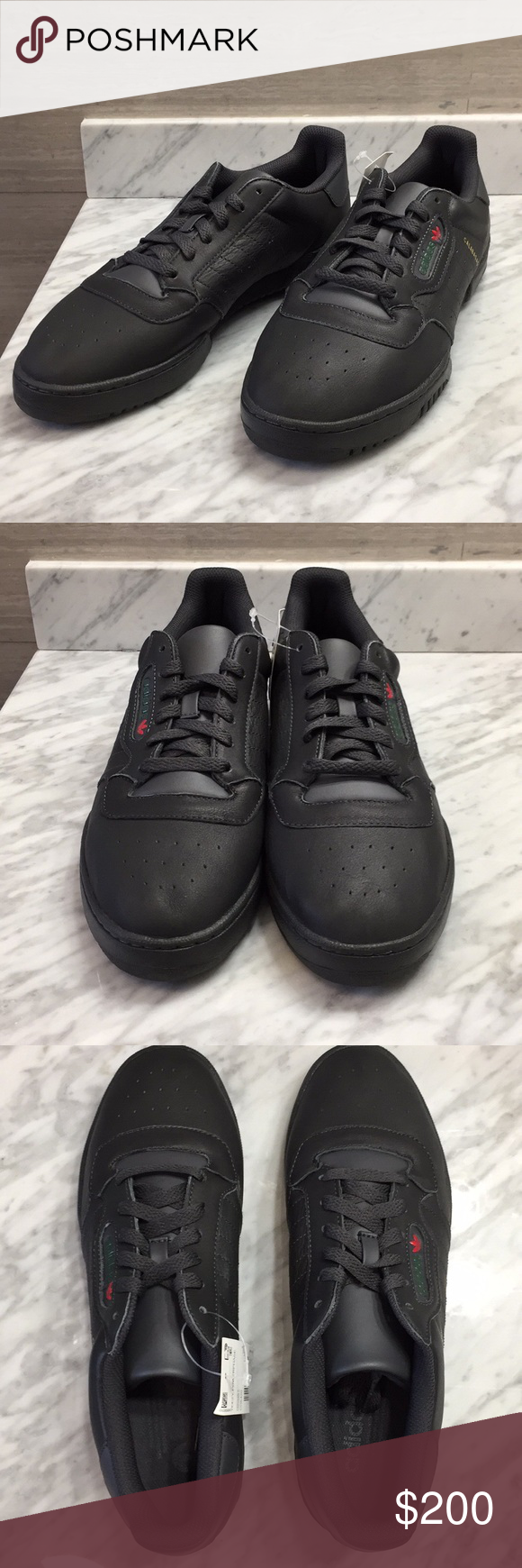2a7195c14 Adidas Yeezy Powerphase Calabasas Size 9.5 Black Adidas Yeezy Powerphase  Calabasas Core Black Core Black Core Black. Style Code  CG6420.