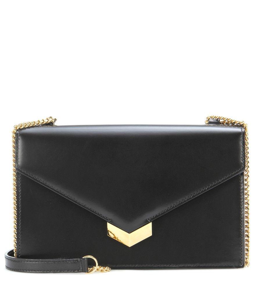 8d4462644cf Jimmy Choo Black Leila shoulder bag   Clutches/Pouches/Wallets in ...