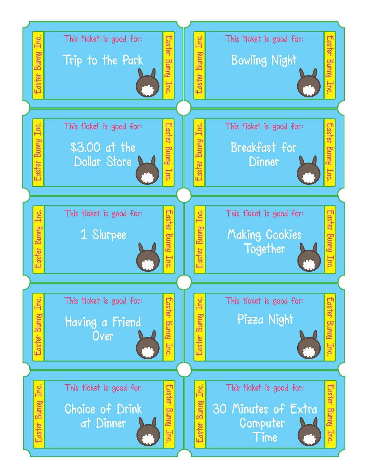 Gallery Free Printable Easter Egg Tickets   Easter coupons, Easter ... is free HD wallpaper.