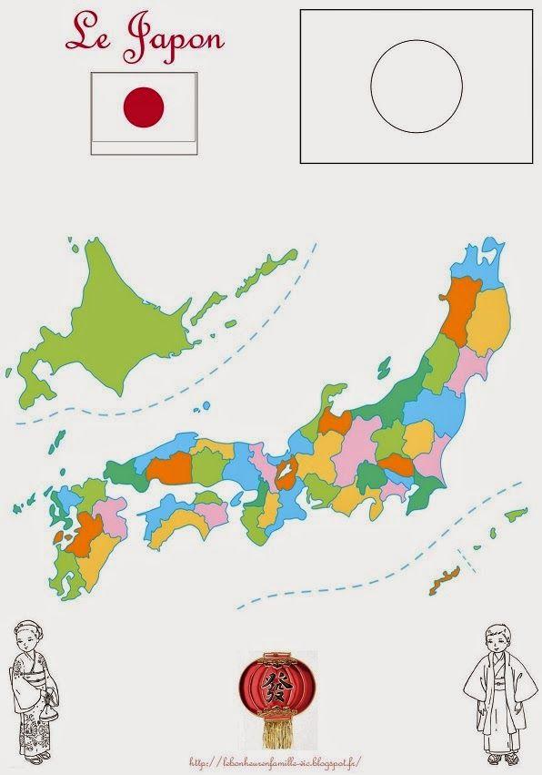 Geographie Le Japon Carte Japon Geographie