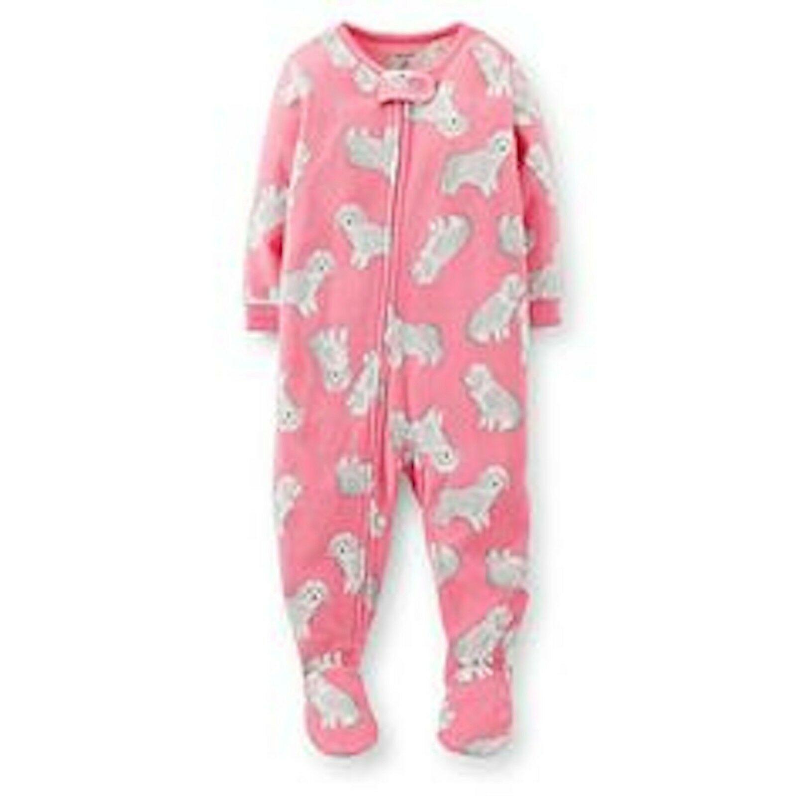 NWT BABY GIRL 1pc PAJAMA ~SLEEPER SIZE NEWBORN