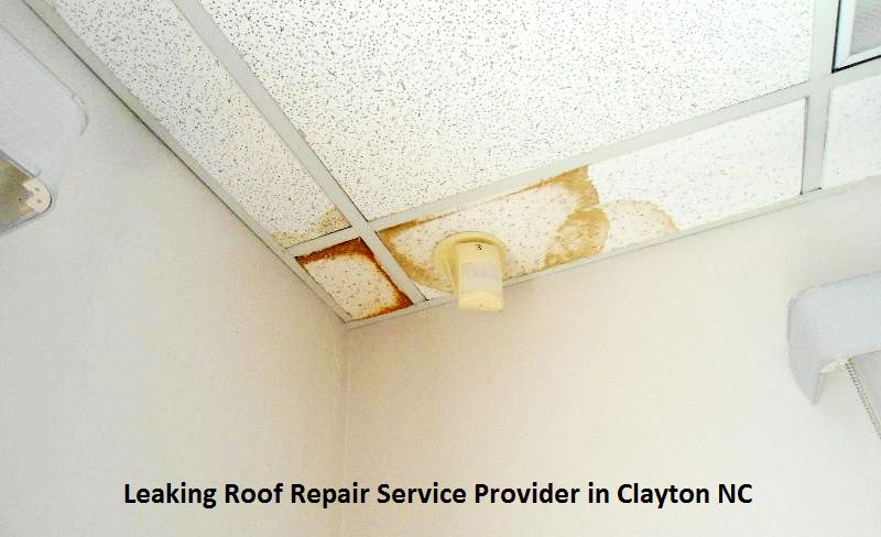 Leaking Roof Repair Service Provider In Clayton Nc Water Damage Repair Repair Ceilings Roof Repair