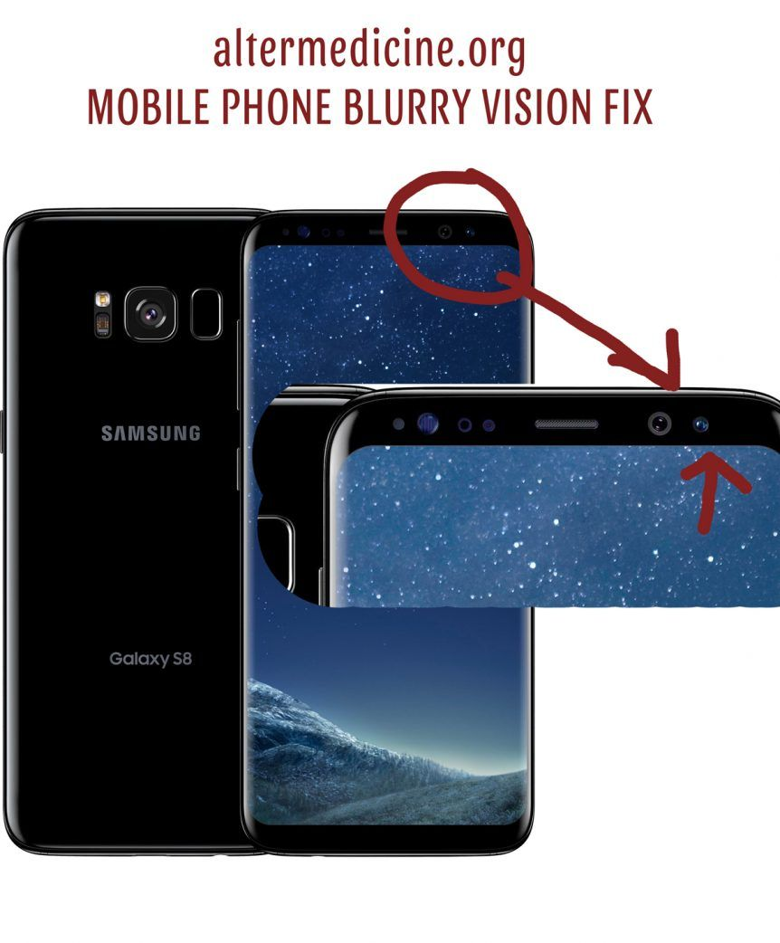 Smartphone Eye Damage Fixed Altermedicine Org Vision Problems Smartphone Blurry Vision