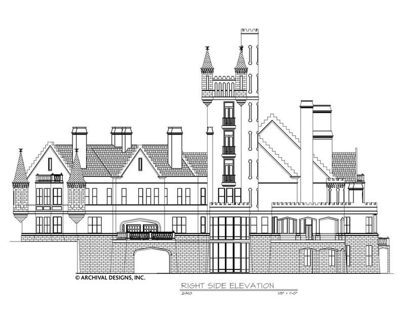 Balmoral House Plan Balmoral House Castle House Plans House Plans Mansion