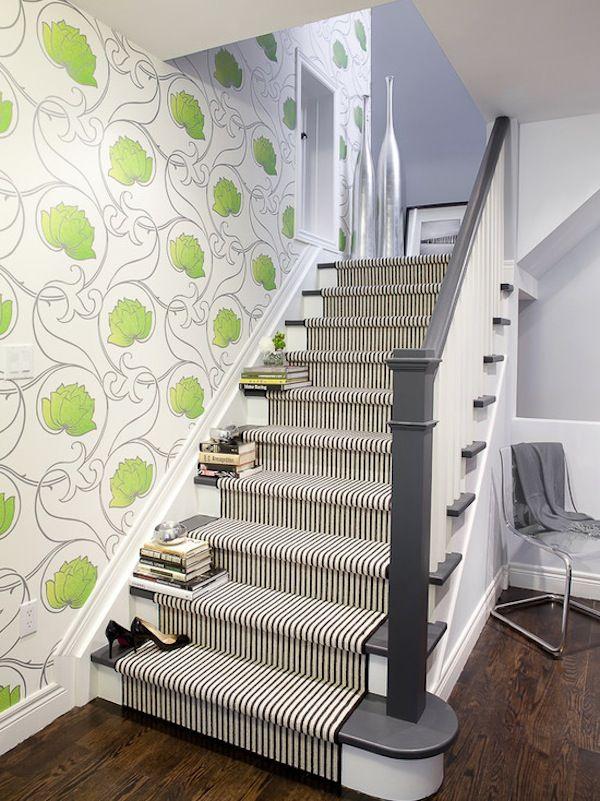 Stripe Pattern | Area Rug | Stair Runners | Flooring Design | Carpet Pattern