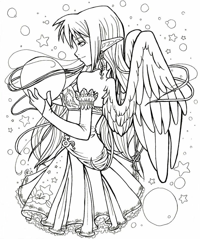 Pin By Bunny On Coloring Tracing Outlines Fairy Coloring Pages Chibi Coloring Pages Animal Coloring Pages