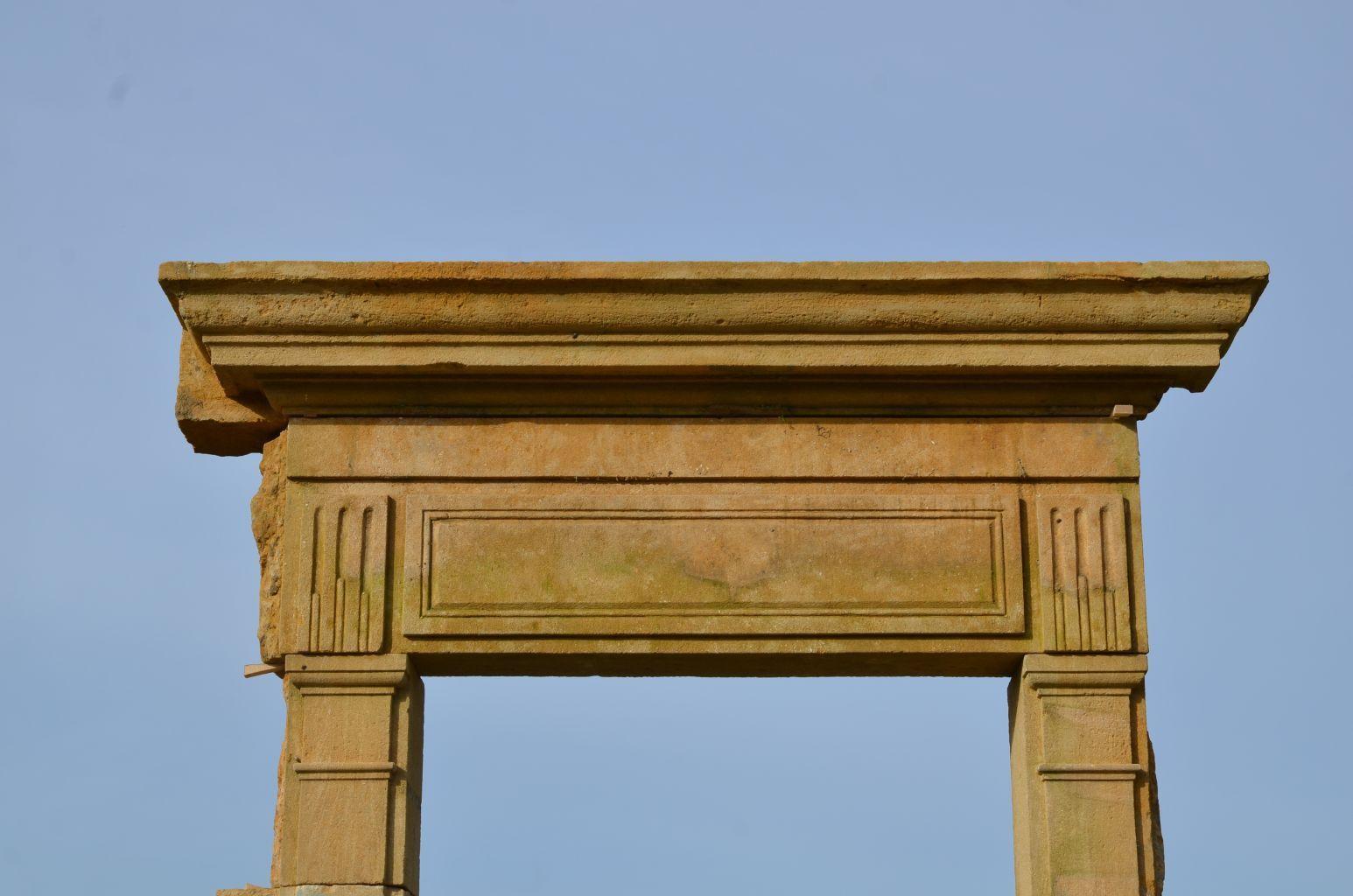 Entourage De Porte Ancienne En Pierre Avec Images Materiaux