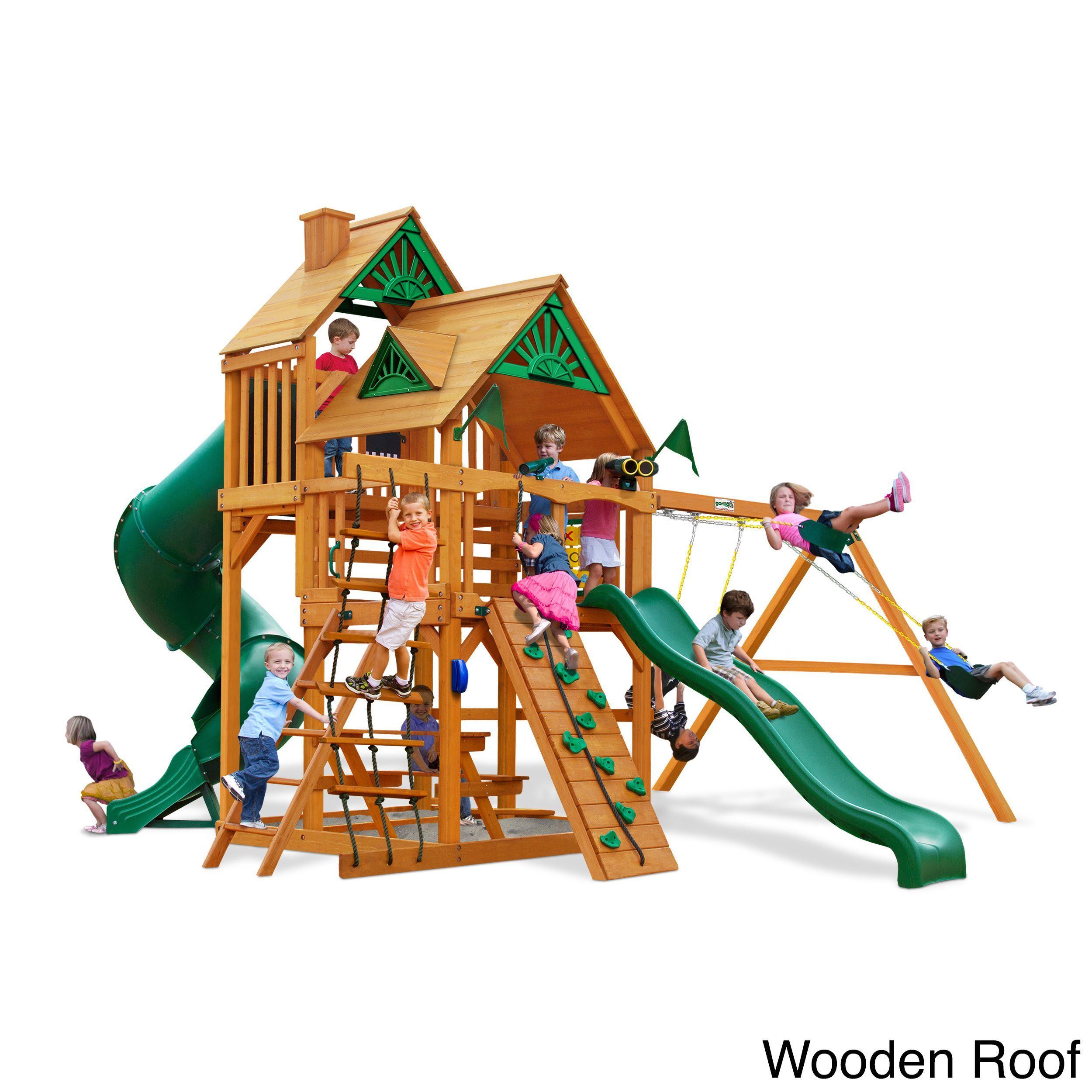 gorilla playsets great skye i ap cedar swing set products