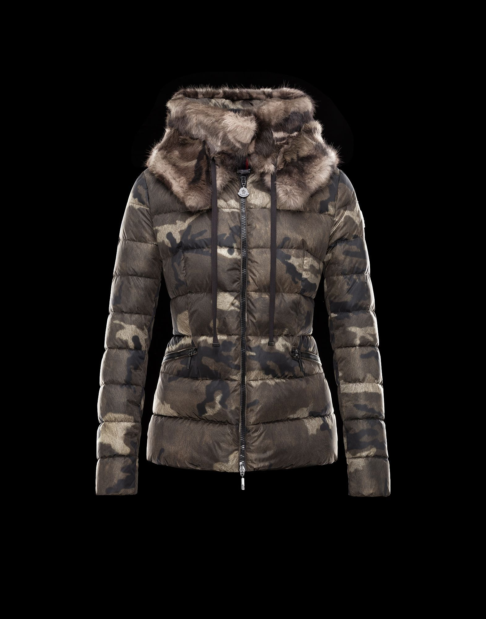 50cfebc9f Moncler Online Store - Bonlieu Jacket with camouflage print ...