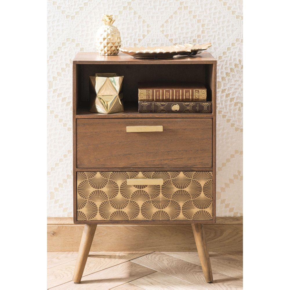 60er teak kommode l chest of 4 drawers l danish modern design l 60s l - Kleine Kommode Von Maisons Du Monde So Kommode Einrichtung Vintage