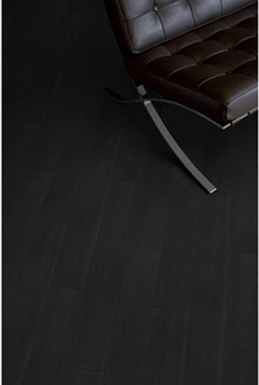 sol pvc lames adhesives design aspect teck noir leroy merlin ... - Parquet Teck Salle De Bain Leroy Merlin
