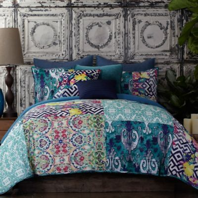 Tracy Porter Poetic Wanderlust Florabella Comforter Set In Teal