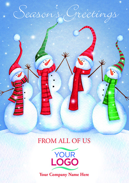 Holiday Cards Online >> High Five Gang Holiday Logo Cards Create Beautiful Personalized