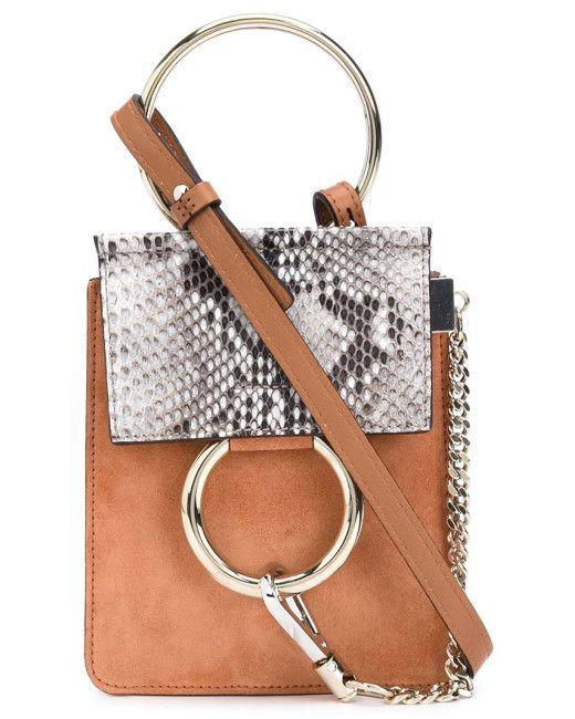 2ba58e8f23 Chloé | Animal Mini 'faye' Crossbody Bag | Lyst | Knitted Bangle ...