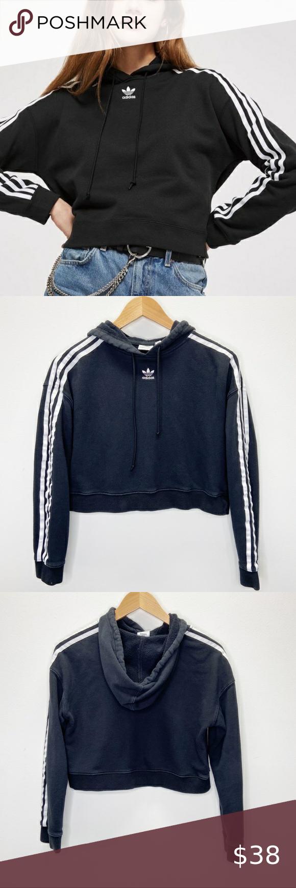 Predownload: Adidas Originals Cropped Hoodie Sweatshirt Crop Sweatshirt Hoodie Cropped Hoodie Sweatshirts Hoodie [ 1740 x 580 Pixel ]