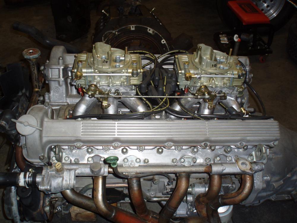 Jaguar V12 326 Cubic Inch Custom Dual Quad Intakes And Headers Rhpinterest: 1988 Jaguar V12 Engine Diagram At Gmaili.net