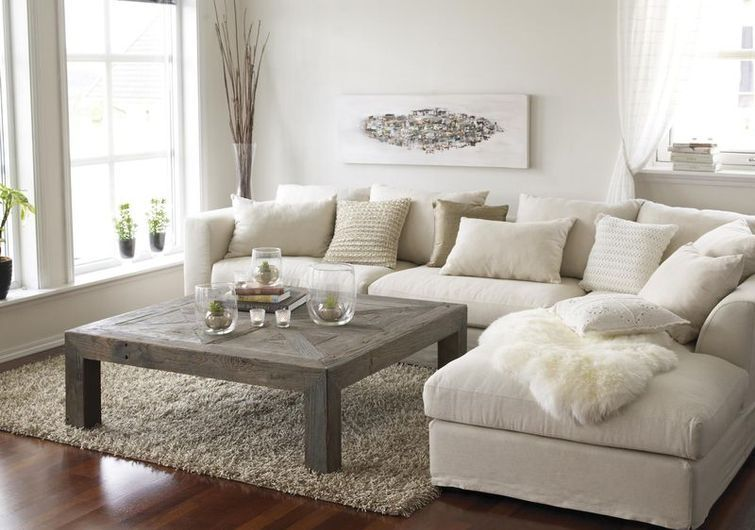 Nice Use Of Earth Tones For A Very Traditional Casual Feel Cream Living Room Furniture