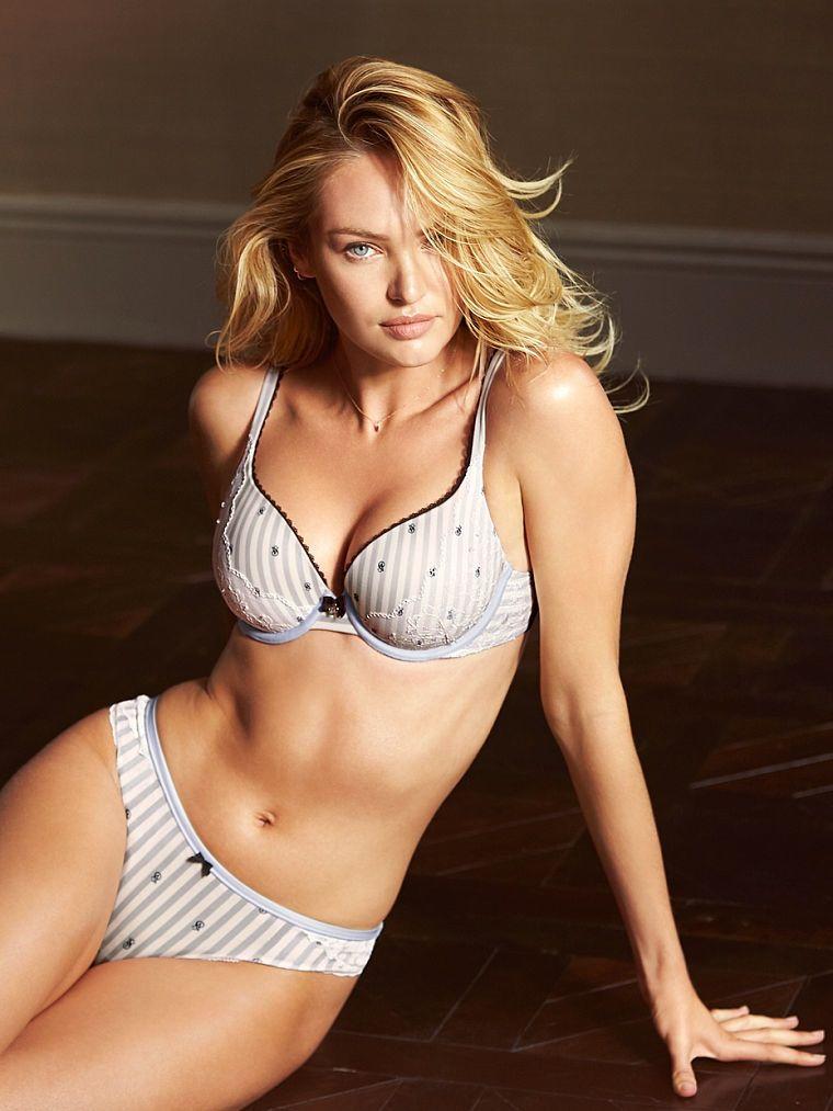 14f12058db Candice Swanepoel Models Victoria s Secret s Latest Underwear Styles ...