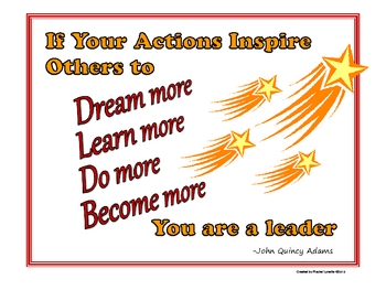 Inspirational Quotes - Classroom Posters to Motivate Your