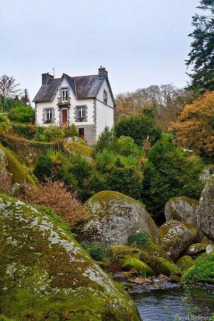 Paysages de Bretagne, Huelgoat, France